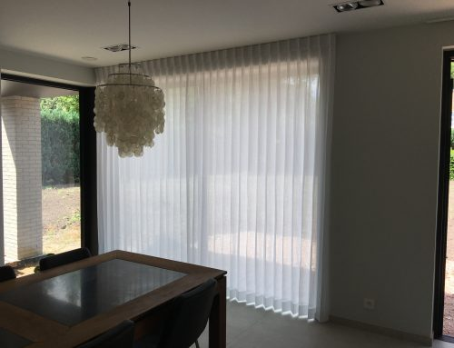 Transparante gordijnen